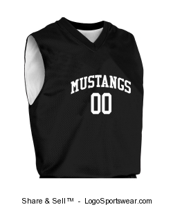 Adult Fadeaway Reversible Basketball Jersey Design Zoom