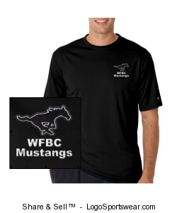 WFBC Black T Design Zoom